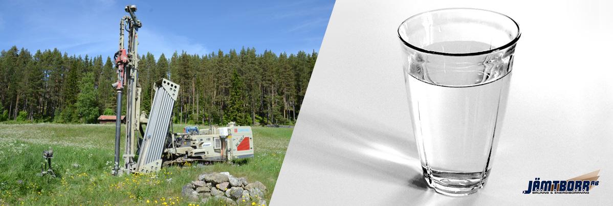 Borrmaskin & Vattenglas